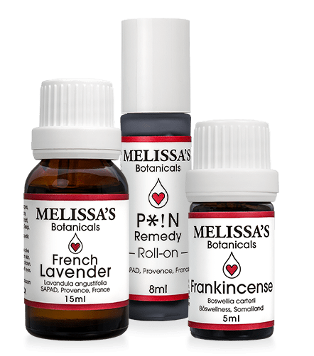 French Lavender - 15ml, P*!N Remedy 8ml Roll-on, Frankincense 5ml